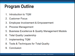 principles of tqm slide examples