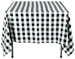winning black and white round plastic tablecloth vinyl
