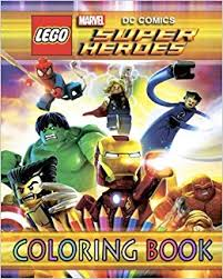 lego marvel dc super heroes coloring book for kids paperback july 23 2018