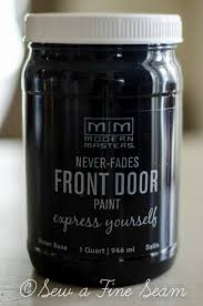 front door paint ideas 2Stylish  Elegant Black Front Door Makeovers  Modern Masters Cafe