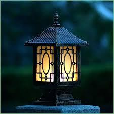 outdoor solar lights home depot fence lights home depot lighting solar powered led post cap fence