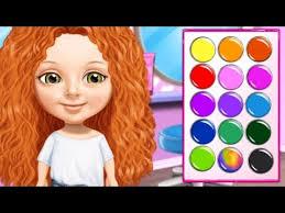 fun baby s care hair nail spa salon sweet baby beauty salon 3 makeup kids game