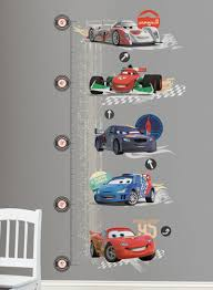 Shop Roommates Disney Cars Growth Chart Wall Decals