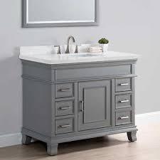 bathroom single sink vanities. charleston 42\ bathroom single sink vanities l