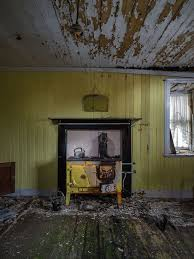 Abandoned homes on Scottish islands where residents left TV sets