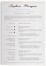 Resume Tem Professinal Resume Cv Template 7 By Creativelab On