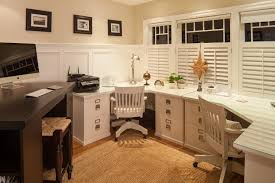 bay window desk home office modern. modern corner desk home office traditional with 3 seater space bay window