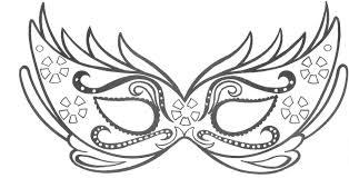 Lavoretti Di Carnevale Maschere Da Colorare Disegni E Decorazioni