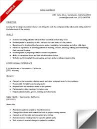 caregiver resume objectives