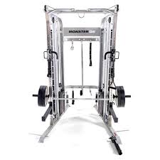 Coat Rack Monster For Sale Inspiration Force USA G32 Monster Power Rack Functional Trainer Smith Machine Combo
