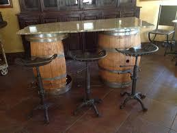 Wine barrel bar plans Diy Wine Barrel Bar Front Decor Snob 135 Wine Barrel Furniture Ideas You Can Diy Or Buy photos