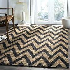 wool and jute rug hand knotted organic black natural wool jute rug pottery barn chevron reviews