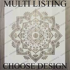mandala stencils choose design craft