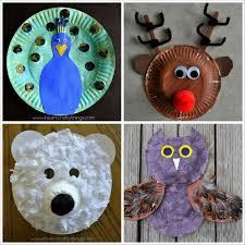 Christmas Tree Craft Using Paper Plates Green Paint Glue Brown Christmas Crafts Using Paper Plates