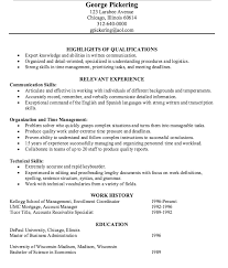 ... Samples Example Accounts Receivable Resume 14 Example Of Specialist  Http Exampleresumecv Org ...