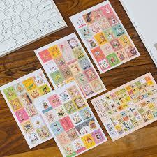 21% OFF 4 Sheets/lot Kawaii Cartoon Korea Vintage <b>Francoise</b> ...