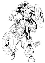 Captain America Winter Soldier Coloring Pages 2019 Open Coloring Pages