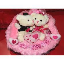 beautiful pink hanging basket with