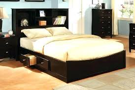Custom King Size Bed Custom King Size Platform Bed Frame With ...