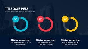 bold powerpoint templates 3d circular chart business powerpoint templates slidemodel