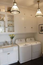 tall ceilings laundry room