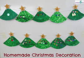 Paper Plate Christmas Tree Counting Decoration Learning 4 Kids