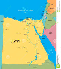 egypt vector map stock photo image 7452540 Egypts Map country egypt israel map egypt map