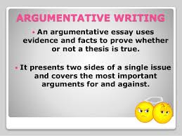 argumentative writing ppt grades forms  argumentative