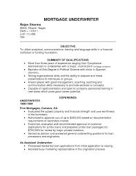 Sample Insurance Underwriter Resume Warehouse Manager Cover Letter