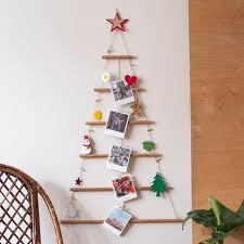 wooden christmas tree decorative