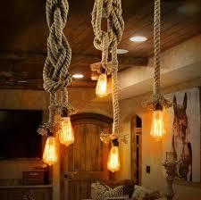 cottage pendant lighting. Modren Pendant Vintage Rope Pendant Lights Cottage Coastal Rustic Lighting With Cottage X