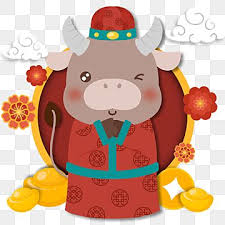 Lunar new year, spring festival background with double happiness, simbol, clouds, glittering stars. 2021 New Years Greetings Cute Calf Year Of The Ox Chinese New Year 2021 Png Transparent Clipart Image And Psd File For Free Download New Year Cartoon Cartoon Cow Chinese New Year Background
