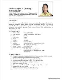 Nursing Resume Examples 2017 Browse Nurse Resume Sample Philippines Sample Nursing Resumes 100 56