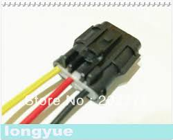 aliexpress com buy longyue 10pcs 3 pin female ket pigtail aliexpress com buy longyue 10pcs 3 pin female ket pigtail connector automotive wiring harness socket 15cm wire from reliable connector ket suppliers on