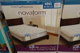 novaform 14 comfort grande gel memory foam full mattress. costco sale: novaform 14\u2033 gel memory foam mattress 14 comfort grande full