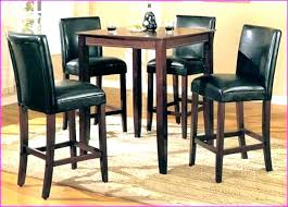 high kitchen table set. Tall Kitchen Tables Stools High Bar Height  Table . Set V