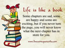 Awesome Quotes About Life Adorable Awesome Quotes Life Is Like A Book