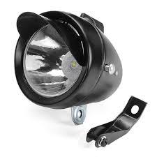 Fog Lights For Sale Retro Vintage Classic Metal Bike Led Headlight Front Fog Light Head Lamp Black