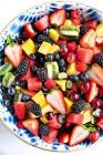 big mess fruit salad