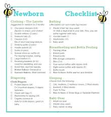 Baby Layette Checklist Room Basic Imgcl