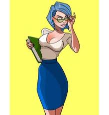 Sexy Teacher Cartoon Vector Images 40