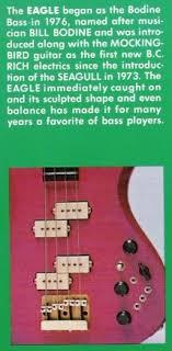 rick suchow nyc bassist writer bass original b c rich eagle mockingbird manual wiring schematic