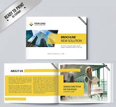 marketing slick template free download marketing brochure templates