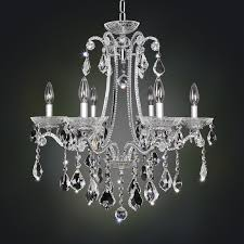 ferrero collection i 6l chandelier chrome finish many shade options clear firenze or clear swarovski crystals 6 40w e12 lamps w 610mm h 711mm
