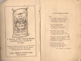 an old fashioned recipe poem