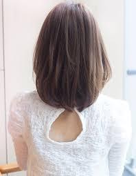 髪型どんな人にも似合うミディアムパーマ ヘアカタログ銀座の