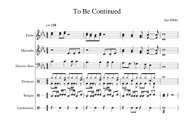 The curse of michael myers 8 halloween: To Be Continued Sheet Music For Piano Percussion Sonic 2 Boss Theme Sheet Music Transparent Png Download 2027137 Vippng