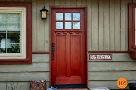 craftsman style front doors27 Craftsman Cherry Door Style Interior Craftsman Interior Doors
