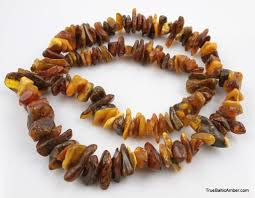 large vine baltic amber necklace 190g 32in