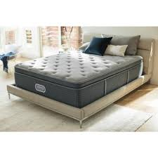 king pillow top mattress. Beautyrest Silver Santa Barbara Cove King Plush Pillow Top Low Profile Mattress Set